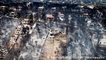 BG Griechenland   Verheerende Brände um Athen (Reuters/Eurokinissi /A. Nicolopoulos)