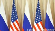 Symbolbild Beziehungen Russland & USA