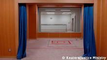 Japan Haftanstalt in Tokio | Hinrichtungsraum
