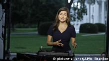 USA Washington CNN Reporterin Kaitlan Collins