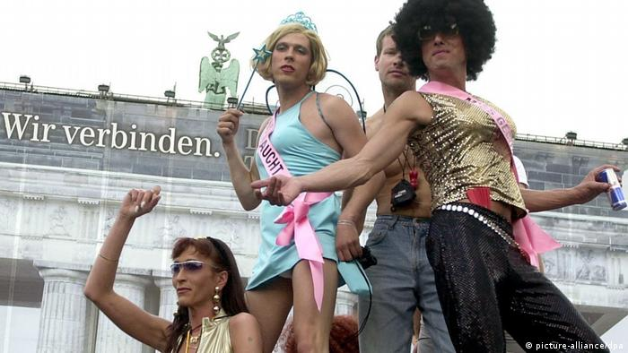 Berlin celebrates Christopher Street Day