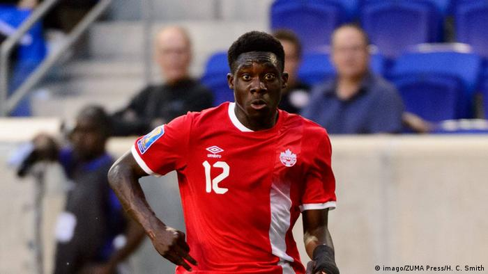 Alphonso Davies (imago/ZUMA Press/H. C. Smith)