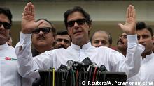 Pakistan Islamabad Politiker Imran Khan