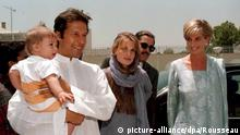 Imran Khan empfängt Prinzessin Diana in Lahore