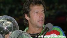 Pakistan Cricket Kapitän Imran Khan
