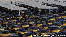 Spanien | Taxifahrer im Streik