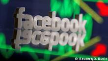 USA Facebook-Aktie droht nach trübem Ausblick Rekord-Tagesverlust