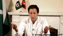 Pakistan Islamabad PK Wahlsieg Politiker Imran Khan