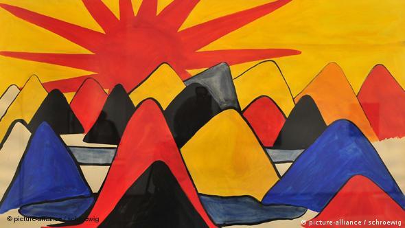 Ausstellung Bilderträume in Berlin: Bild von A. Calder
