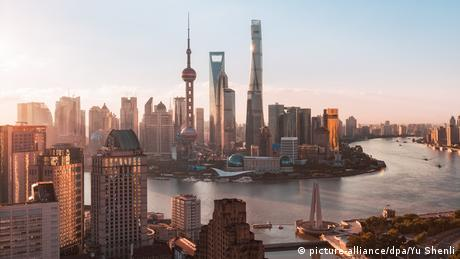 China Skyline von Shanghai (picture-alliance/dpa/Yu Shenli)