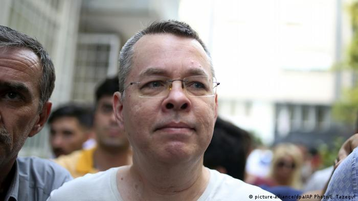 Andrew Craig Brunson, originally from North Carolina, was released from jail but is confined to house arrest in Turkey