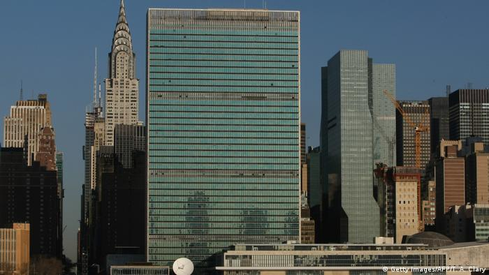 USA | UN-Gebäude in New York (Getty Images/AFP/T. A. Clary)