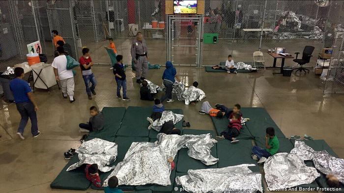 Jefe fronterizo de EE.UU. dimite en medio de polémica por niños ...