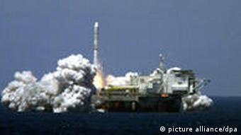 Проект Морський старт запускає американський супутник, 2001 рік