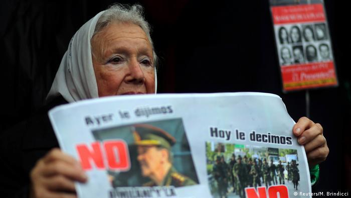 Argentinien   Proteste in Buenos Aires (Reuters/M. Brindicci)