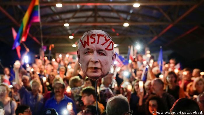 Poljska, prosvjedi protiv reforme pravosuđa