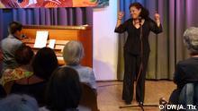 Bürgerhaus Bilk in Düsseldorf   Konzert Protestsängerin Karla Lara aus Honduras