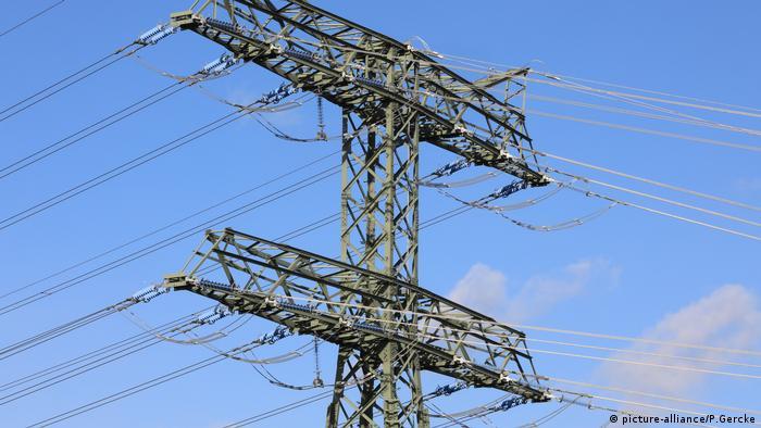 Stromleitungen in Wolmirstedt
