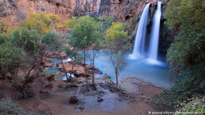 Havasu Falls in Grand Canyon National Park, Arizona, USA (picture-/alliiance/Bildagentur-online)