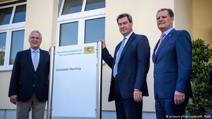 Deutschland Gründung des Landesamtes für Asyl und Rückführungen (picture-alliance/dpa/M. Balk)