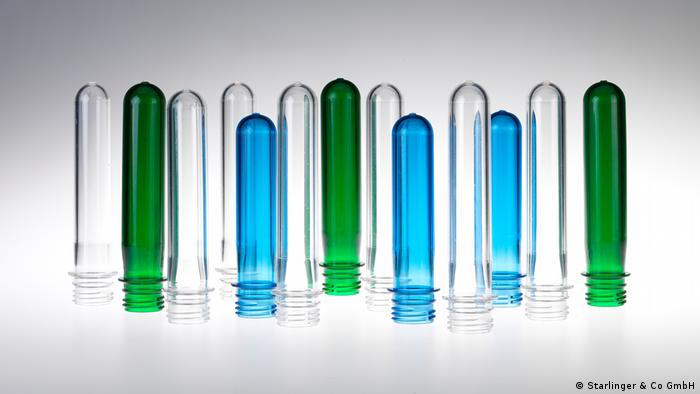 Preforms zur Herstellung von PET-Flaschen