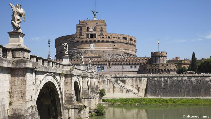 Italien, Rom, Ponte S'Angelo (picture-alliance)
