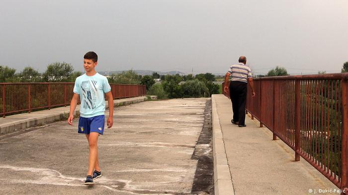 Die unvollendete Brücke Serbiens