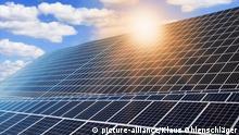 BG Sommerhitze | Photovoltaikanlage mit Solarmodulen
