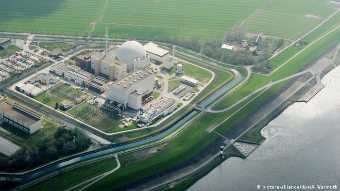 Centrala nucleară din Brokdorf