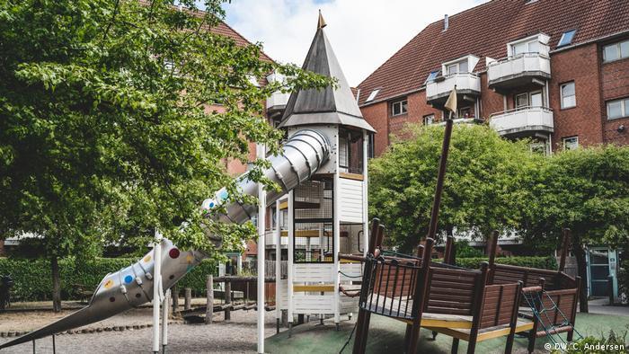 Mjoelnerparken in Copenhagen (DW. C. Andersen)