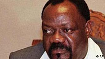 UNITA-Chef Jonas Savimbi