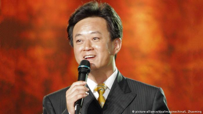 Wetten, dass..? in China - Moderator Zhu Jun (picture-alliance/dpa/Imaginechina/L. Zhaoming)