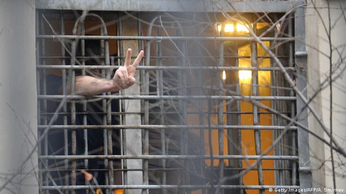 В московской тюрьме