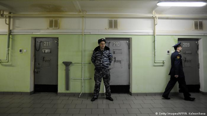 Cell doors in the notorious Russia's Butyrka remand prison