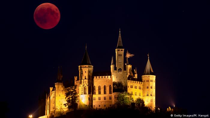 Mondfinsternis 2018 | Deutschland (Getty Images/M. Hangst)