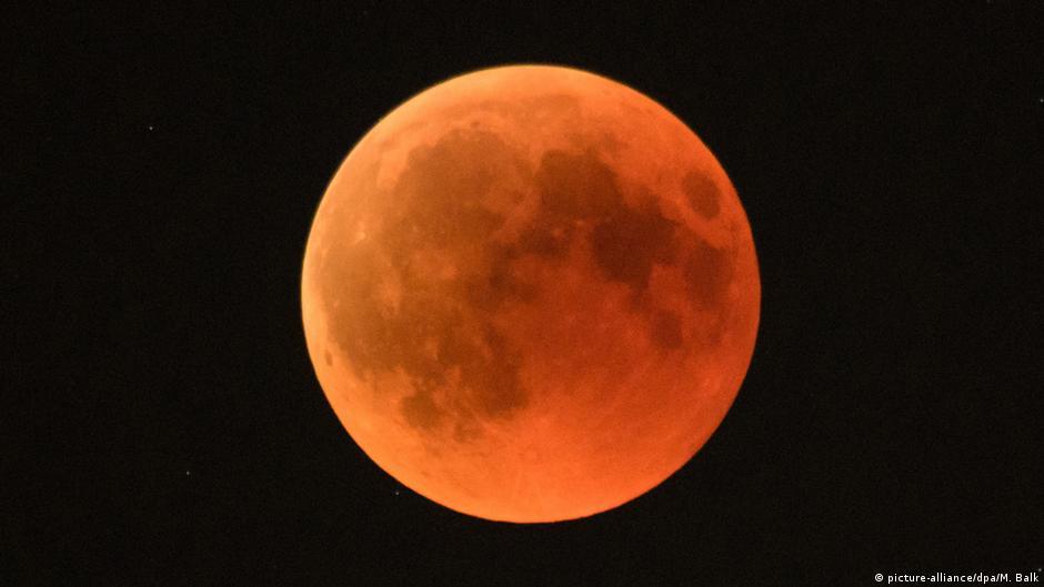 383bcb8b9 Prepare-se para o único eclipse lunar total de 2019 | Novidades da ciência  para melhorar a qualidade de vida | DW | 20.01.2019