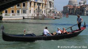 Touristen in Italien Venedig
