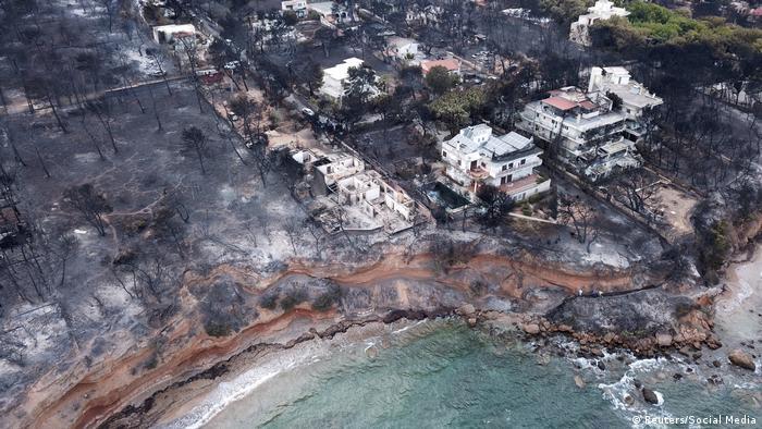 Griechenland Feuer Waldbrand