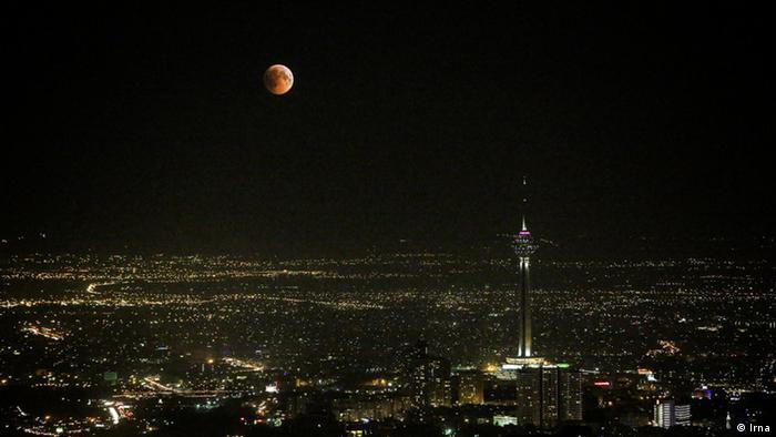 Mondfinsternis Iran (Irna)