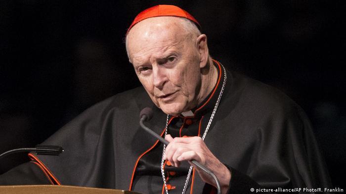 USA   Kardinal Theodore Edgar McCarrick sexuellen Missbrauchs beschuldigt