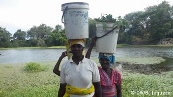 Wassermangel in der Provinz Manica