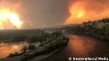 USA Kalifornien - schwere Waldbrände