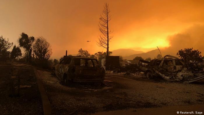 USA Kalifornien - schwere Waldbrände (Reuters/A. Sage)