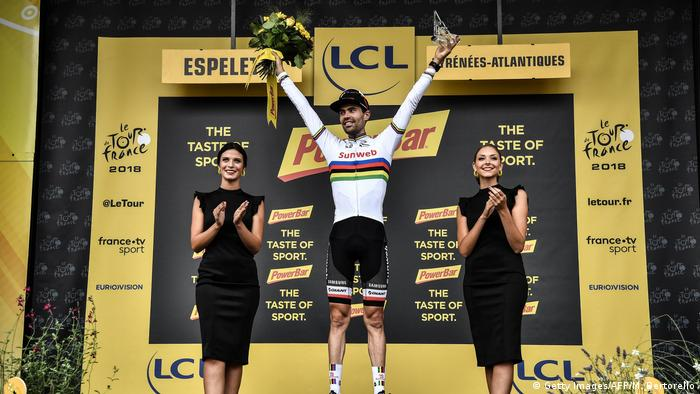 Frankreich - Tour de France 20. Etappe - Tom Dumoulin ist Etappensieger (Getty Images/AFP/M. Bertorello)