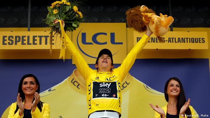 Frankreich - Tour de France 20. Etappe - Geraint Thomas (Reuters/S. Mahe)