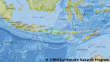 USGS Earthquake Hazards Program - Meldung Erdbeben Lombok