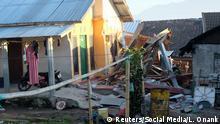 Indonesien Erdbeben auf Lombok