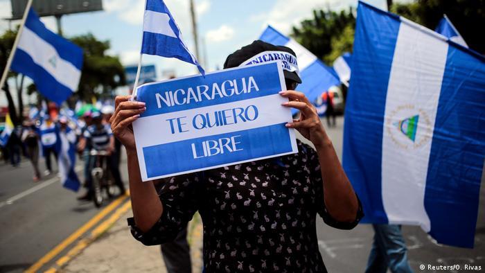 Nicaragua Managua Demonstration (Reuters/O. Rivas)