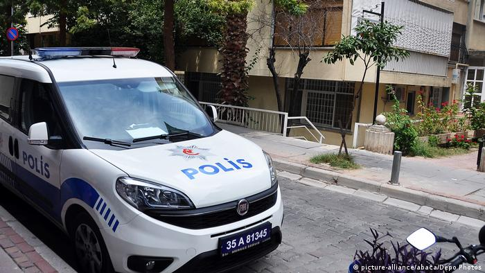 Turkish police car (picture-alliance/abaca/Depo Photos)