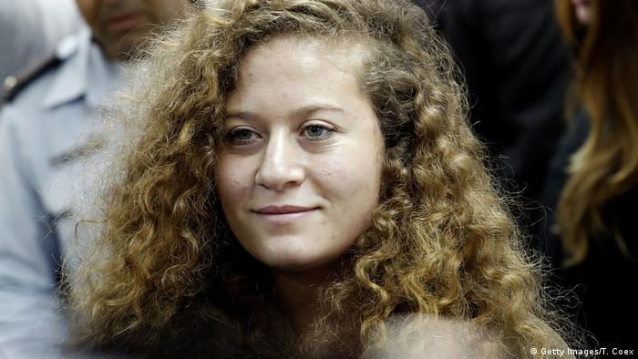 Ahed Tamimi Freilassung Palästina (Getty Images/T. Coex)